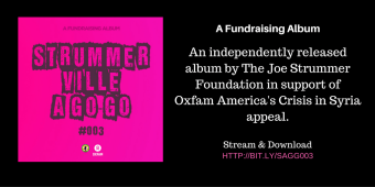 PRESS RELEASE: The Joe Strummer Foundation & Oxfam America Announce Fundraising Album