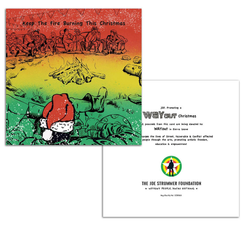 Campfire Christmas Cards - Joe Strummer Foundation