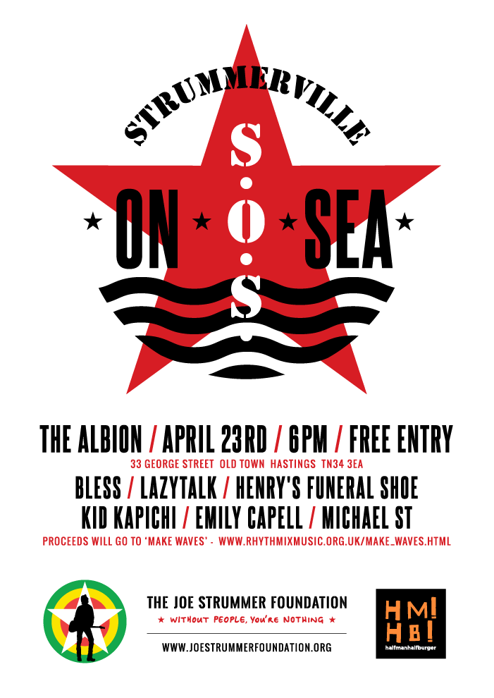 Strummerville-On-Sea - Make Waves - The Joe Strummer Foundation