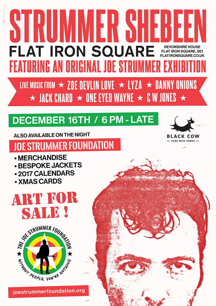 Strummer Shebeen III - Flat Iron Square - Joe Strummer Foundation