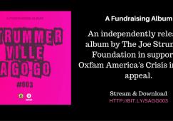 Strummerville A Go-Go #003 - Joe Strummer Foundation - Oxfam America