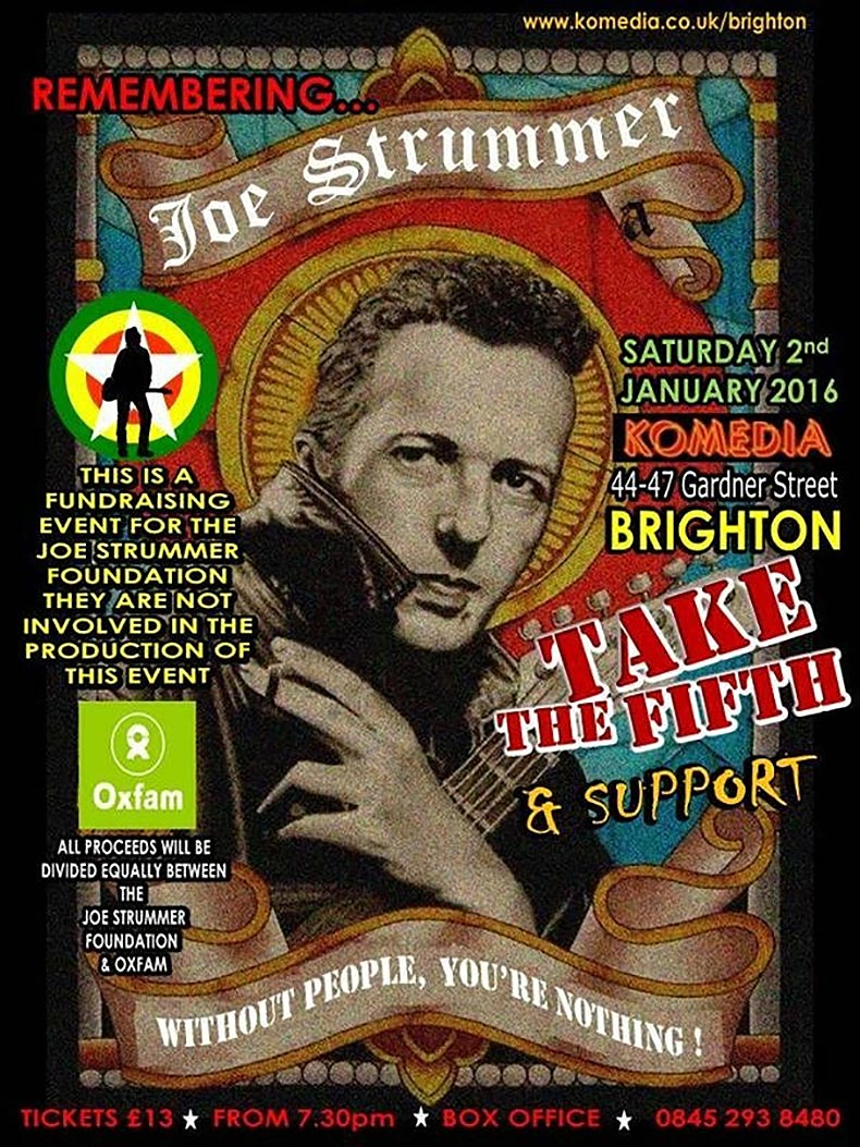 Remembering Joe Strummer - Brighton - The Joe Strummer Foundation
