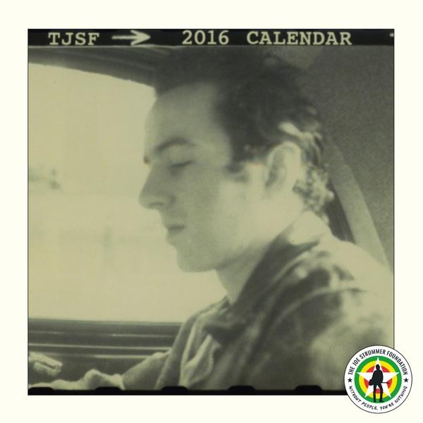 The Joe Strummer Foundation 2016 Calendar - Cover