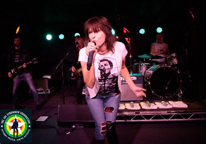 Chrissie Hynde - The Joe Strummer Foundation