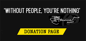 Donate To The Joe Strummer Foundation - Click Here