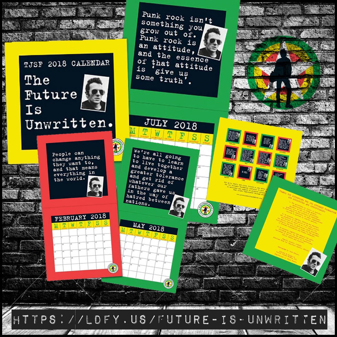 The Future Is Unwritten - Joe Strummer Foundation