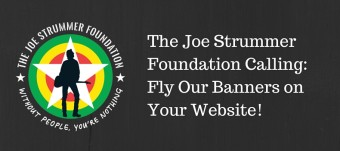 Grab The Joe Strummer Foundation Banners!