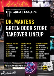 Dr. Martens & Strummerville Take Over - The Great Escape