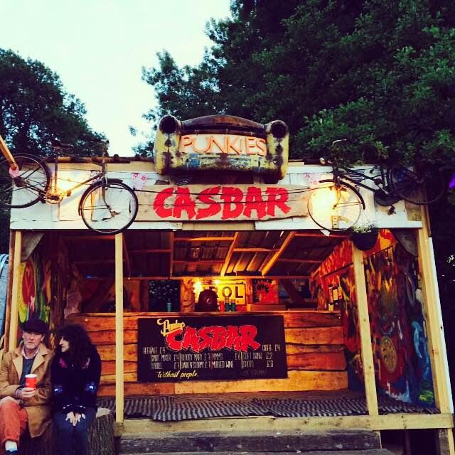 Casbar - Glastonbury 2015 - The Joe Strummer Foundation