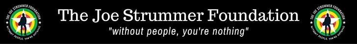 Visit The Joe Strummer Foundation website - click here