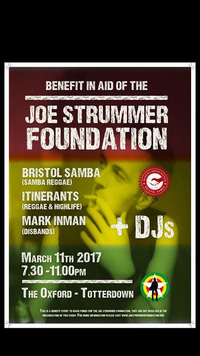 Benefit For The Joe Strummer Foundation