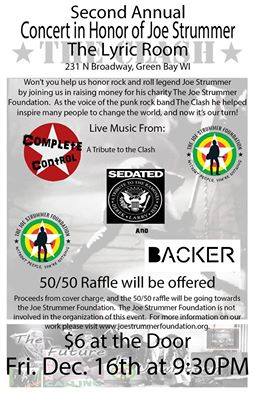 Second Annual Concert in Honor of Joe Strummer