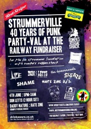 ‎Strummerville 40 years of Punk Party-val