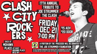 Clash City Rockers – 17th Annual Tribute to Joe Strummer / The Clash
