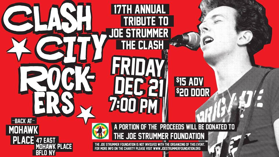 Clash City Rockers - Joe Strummer Tribute - Buffalo - Joe Strummer Foundation
