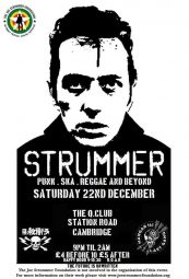 Last Gang's Punk Ska Reggae Joe Strummer Tribute DJ Night