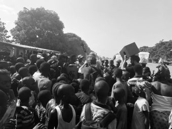 Frank Turner - Joe Strummer Foundation - WAYout Arts - Sierra Leone