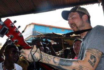 Update: Frank Turner & JSF Mobile Studio in Sierra Leone