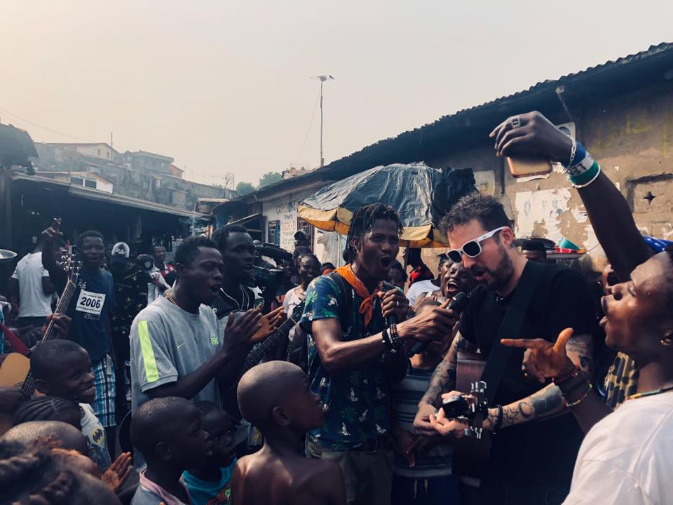 Frank Turner & Joe Strummer Foundation Sierra Leone