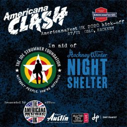 AmericanaFest UK 2020 to support the Joe Strummer Foundation
