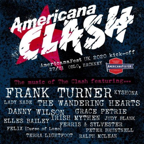Americana Clash - Hackney London - Joe Strummer Foundation