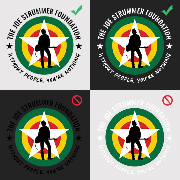 Joe Strummer Foundation - Brand Guidelines - Do's & Dont's