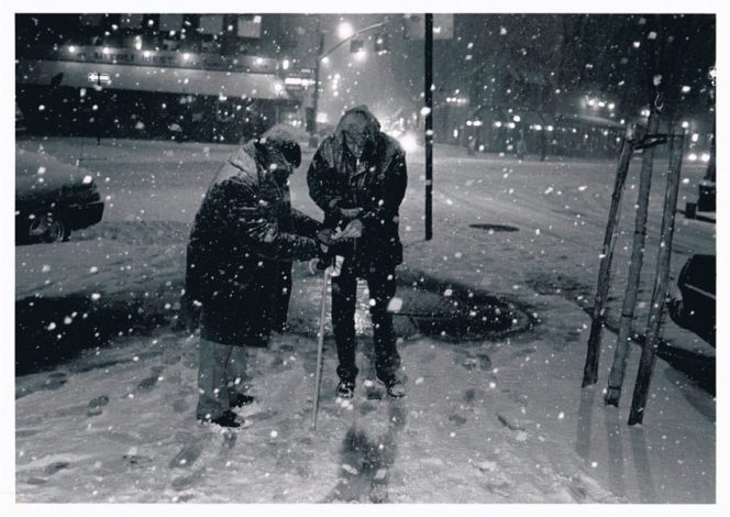 Joe Strummer Winter 1978 NYC - Bob Gruen