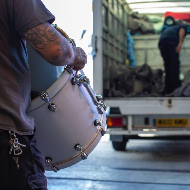 Marshall Amps - Natal Arcadia Drum Kits