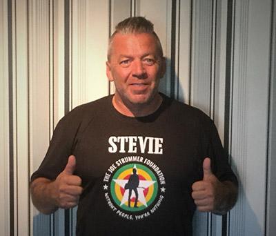 Stevie Scott - Running In Aid of The Joe Strummer Foundation 3