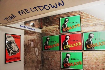 Strummer Shebeen: New Joe Strummer Exhibition, London