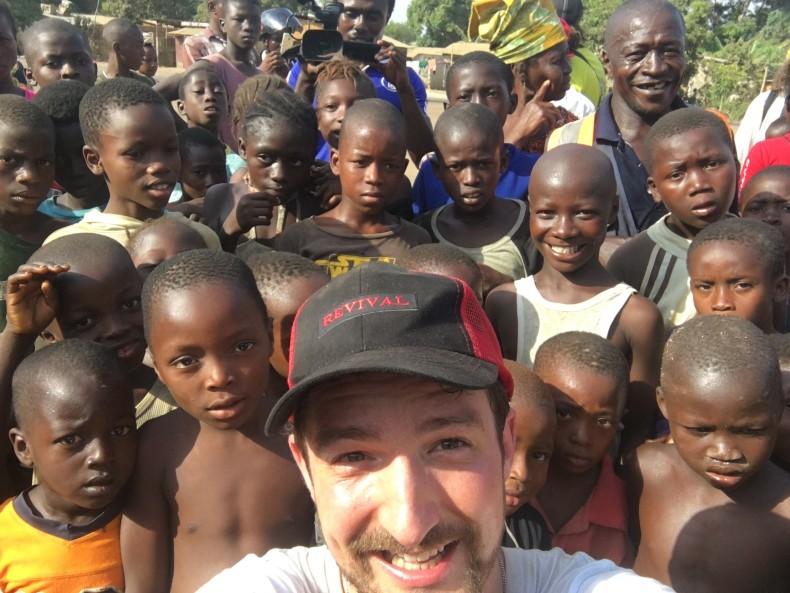 Frank Turner & joie Strummer Foundation return to Sierra Leone