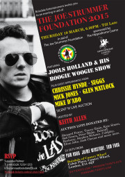 Spring Dinner in aid of The Joe Strummer Foundation
