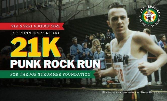 JSF Runners Virtual 21k Punk Rock Run for Joe Strummer's Birthday