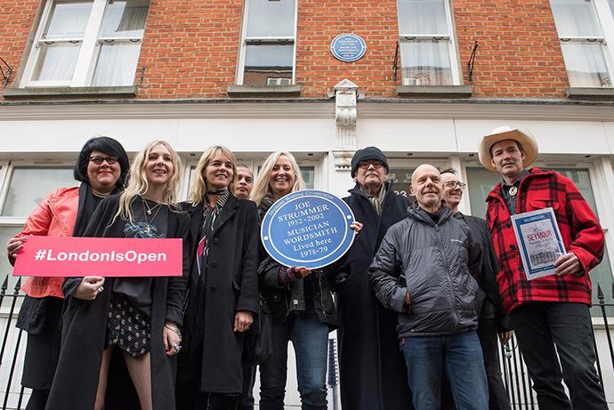 Joe Strummer Plaque - London