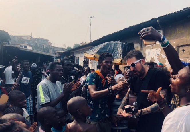 Frank Turner & Joe Strummer Foundation Sierra Leone