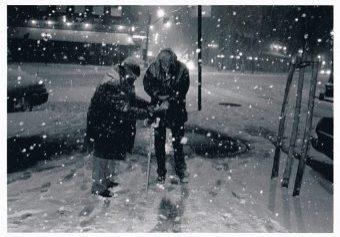 Joe Strummer Winter 1978 NYC - Bob Gruen