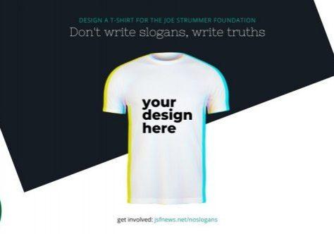 DWSWT T-Shirt For Joe Strummer Foundation
