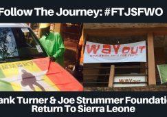 Frank Turner & Joe Strummer Foundation Return to Sierra Leone - WAYOut Arts