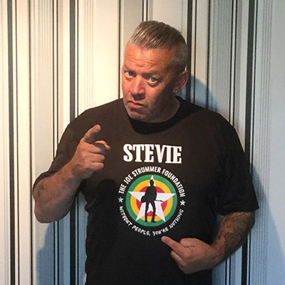 Stevie Scott - Running In Aid of The Joe Strummer Foundation 2