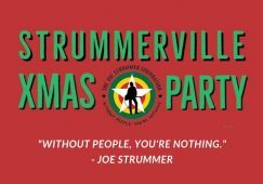 Strummerville Xmas Party - Joe Strummer Foundation
