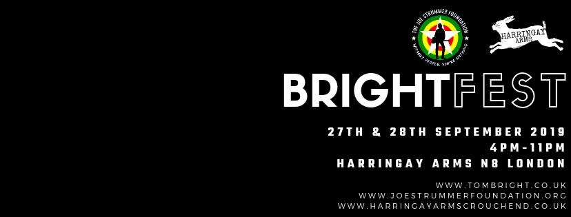 Bright Fest 2019 for Joe Strummer Foundation