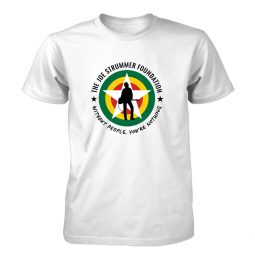 Joe Strummer Foundation Merch - Empowerment Through Music