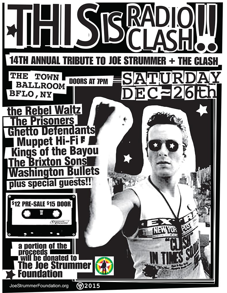 14th Annual Tribute To Joe Strummer - Buffalo, NY