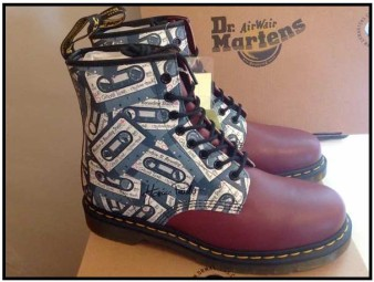 Raffle: Horace Panter (The Specials) & Dr. Martens 'cassette boot'