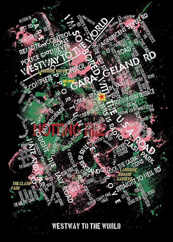 Clash Limited Edition Poster - The Joe Strummer Foundation