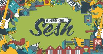 Strummerville Stage At Humber Street Sesh