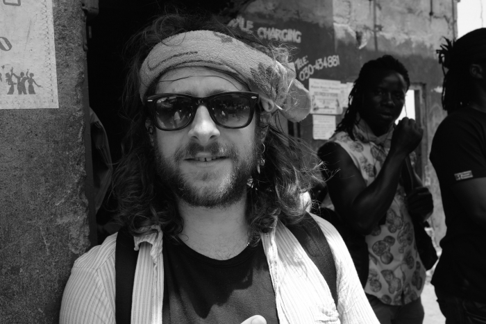 Jamie Webb in Sierra Leone - Joe Strummer Foundation