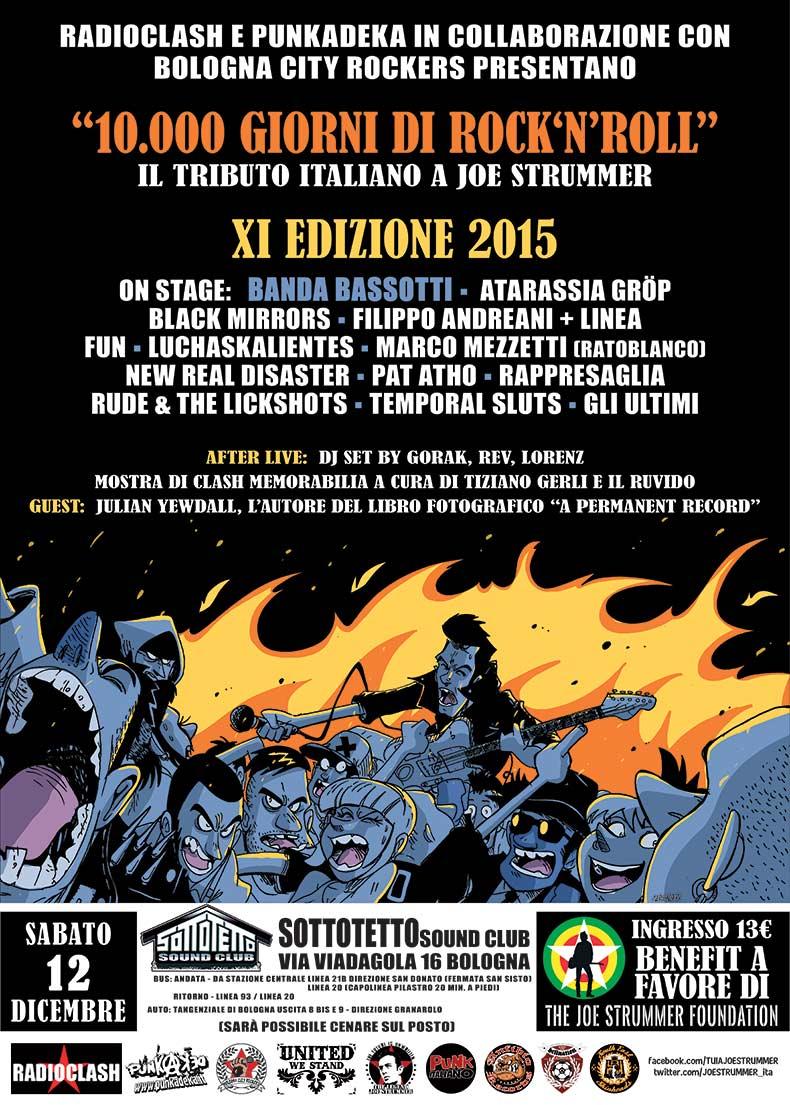 Italian Tribute To Joe Strummer 2015 - Bologna
