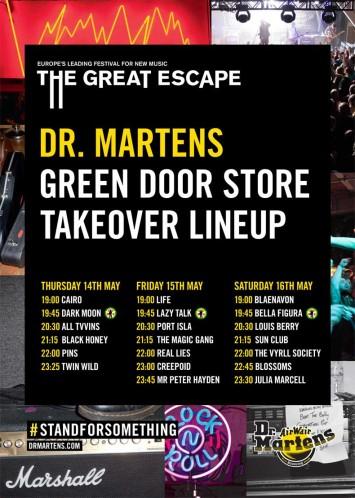 Dr. Martens & Strummerville Take Over - The Great Escape