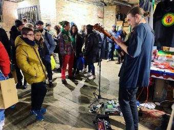 REVIEW: JSF CHRISTMAS POP-UP, CAMDEN MARKET, 8 & 9 DECEMBER 2018